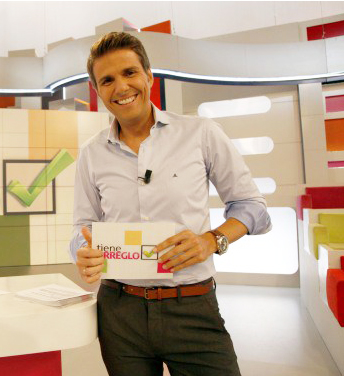 """Fernando Díaz de la Guardia, director y presentador de """"A diario"""" de Canal Sur TV."""