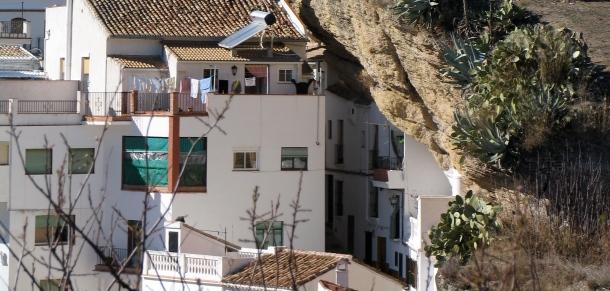 Detalle de la Calle Herrería desde El Carmen.