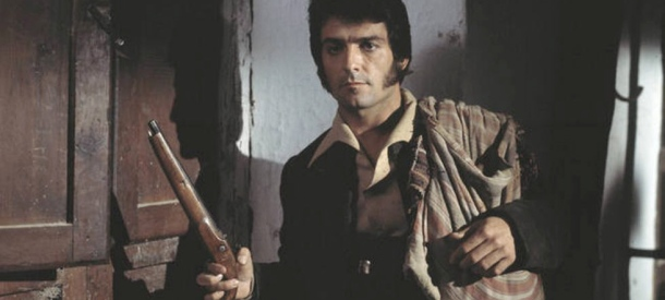 """Pepe Sacho """"El Estudiante"""", en uno de los capítulos emitidos por TVE."""