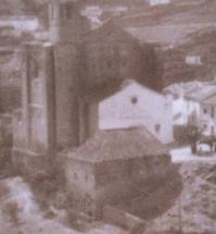 """Pedro Díaz de Palacios fue el constructor de la Iglesia actual, que se hizo """"enchufando"""" el nuevo templo al antiguo edificio mudéjar, construído, a su vez, sobre la primitiva mezquita. En 1614 inició la mayor obra realizada en la Iglesia, y no se llegó a acabar nunca porque el Obispado de Málaga canceló la financiación en 1619. Detalle de una foto de Juan Marín Ortega."""