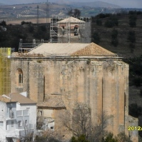 Vista general de la Iglesia de la Villa. Marzo de 2012. Foto: Rafael Domínguez Cedeño