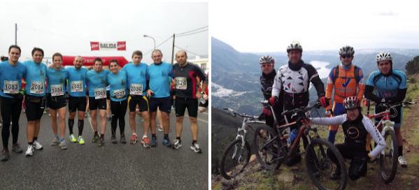 Los Artanaca y Los Santalindes, puntales del deporte en Setenil.
