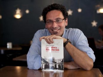 El historiador Fernando Romero. Foto: LAURA LEÓN. PÚBLICO.