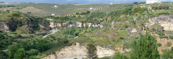 Vista panorámica de los Escarpes del Río Trejo. Foto: P.A.