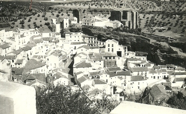 Vista clásica de Setenil. Foto: ANTONIO SÁNCHEZ