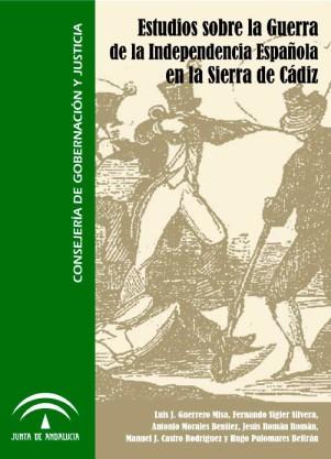 """Portada """"Estudios sobre la Guerra de la Independencia en la Sierra de Cádiz""""."""