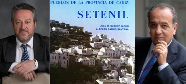 """""""Setenil. Pueblos de la provincia de Cádiz"""". De Juan manuel Suárez Japón y Alberto Ramos Santana. Editado por al Diputación de Cádiz. 1983"""