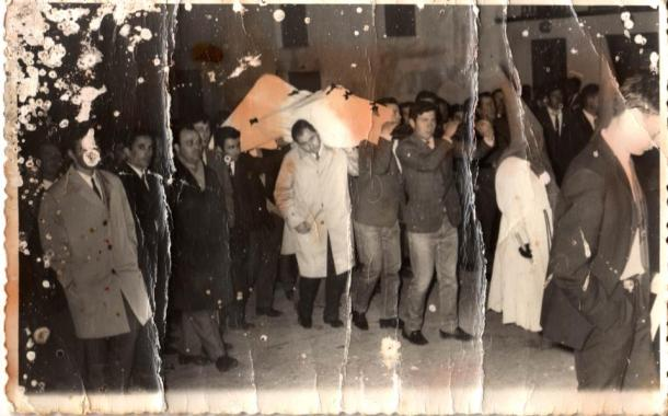 Procesión del Silencio en Setenil de las Bodegas. Foto: ANTONIO SÁNCHEZ