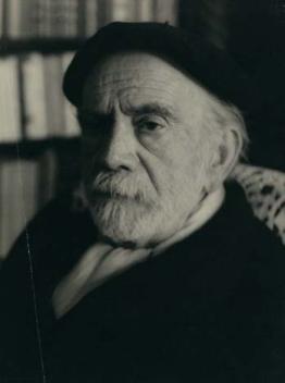 Retrato de Pío Baroja. Foto: NICOLAS MÜLLER