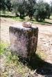 Elementos constructivos romanos reutilizados en El Quinto. Fragmento de Ara