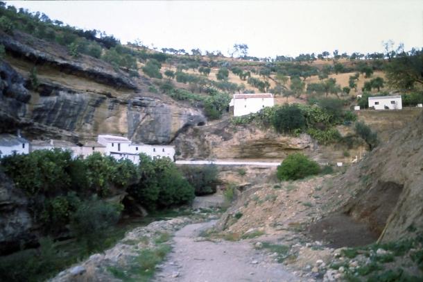 La investigación arqueológica en Las Calcetas cambió la Historia de Setenil. Foto cedida por Juan Ignacio Marín