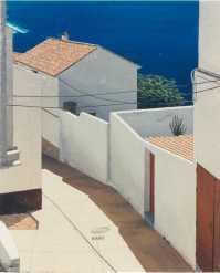 El pintor Manuel R. Cabestany era una enamorado de la luz y la arquitectura del Mediterráneo.