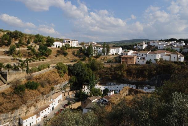 Imagen de Las Jabonerías y El Carmen, con la muralla de Los Cortinales en primer término, antes de su restauración. Foto: ÁNGEL MEDINA LAÍN