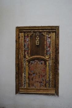 Puerta donde se guardaba el tesoro eclesiástico. Foto. ÁNGEL MEDINA LAÍN