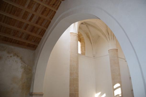 Imagen tomada desde la escalera del coro. Foto: ÁNGEL MEDINA.