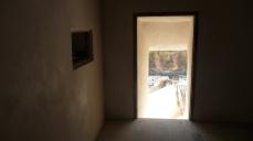 El sagrario, restaurado. Al fondo se ven Los Cortinales y la calle Jabonerías. Foto: ÁNGEL MEDINA LAÍN.