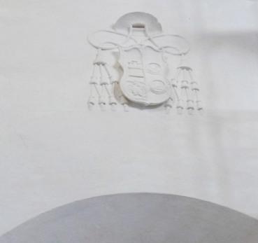 Escudo de Deza. Foto: ÁNGEL MEDINA LAÍN.