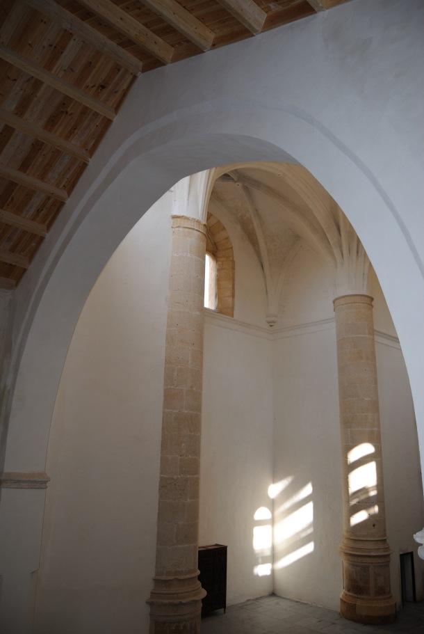 Hermosa foto tomada desde la escalera del coro. Foto. ÁNGEL MEDINA LAÍN