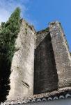 Los muros laterales de la nave principal de la Iglesia presentaban un alto grado de erosión y producía filtraciones de agua que han erosionado la estructura principal. Foto: ÁNGEL MEDINA LAÍN.
