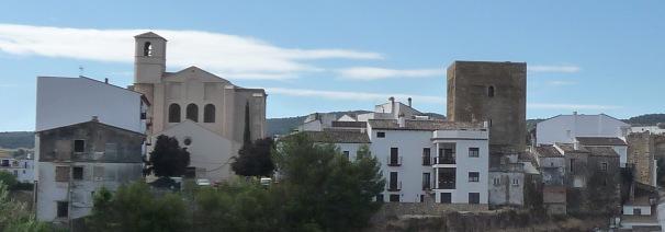 Imagen actual de la Villa tomada desde El Cerro. PEDRO ANDRADES