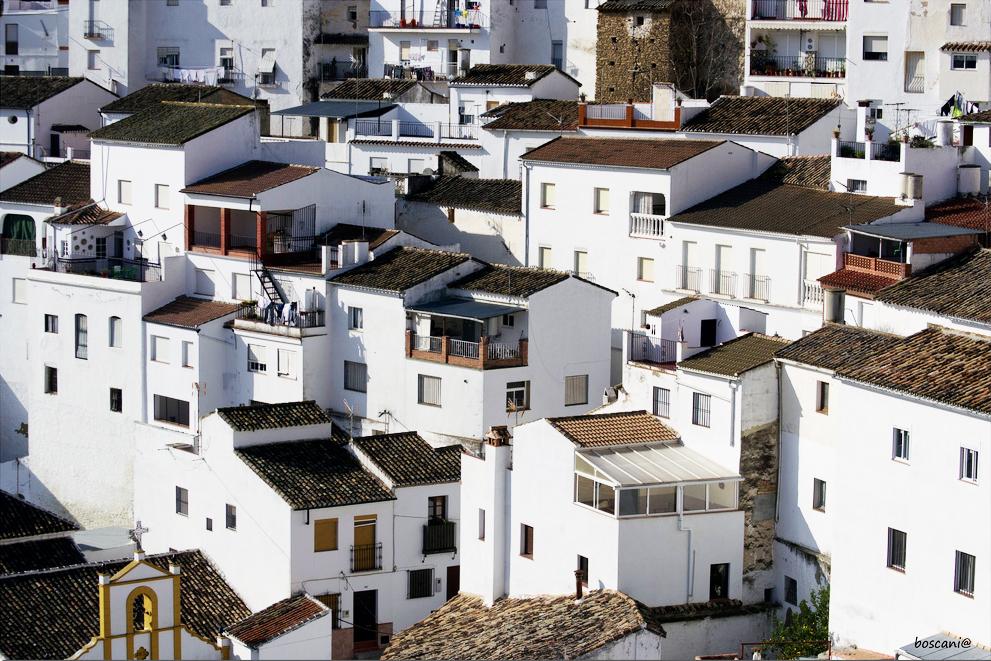 Setenil, pueblo blanco. Foto: BOSCANIA