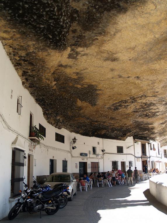 Espectacular imagen de las Cuevas del Sol. Foto: COSTADELSOL59 (Sacada de Flickr)
