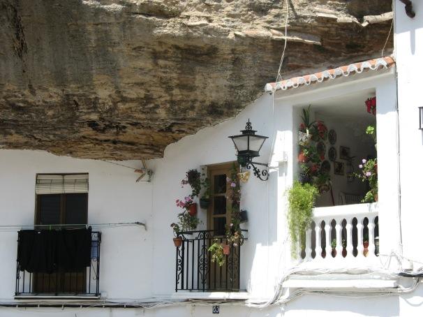 Detalle de las Cuevas del Sol.