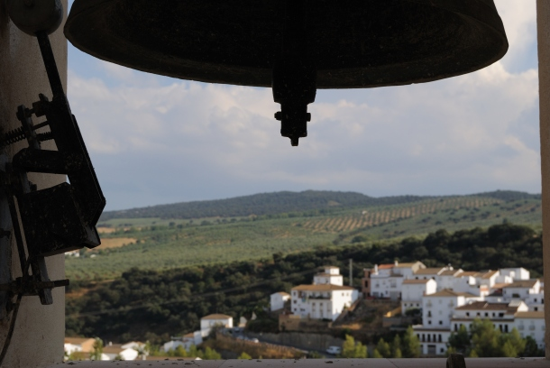 Vista de La Ventosilla y Los Montecillos, desde el campanario. Foto: ÁNGEL MEDINA LAÍN