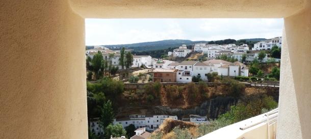 """Vista del Carmen desde la puerta del Sagrario de la Iglesia de la Villa, en un """"marco incomparable"""". Foto. ÁNGEL MEDINA LAÍN"""