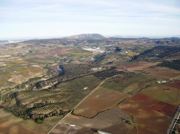 Vista de Alcalá del Valle. Foto: JOSÉ DURÁN