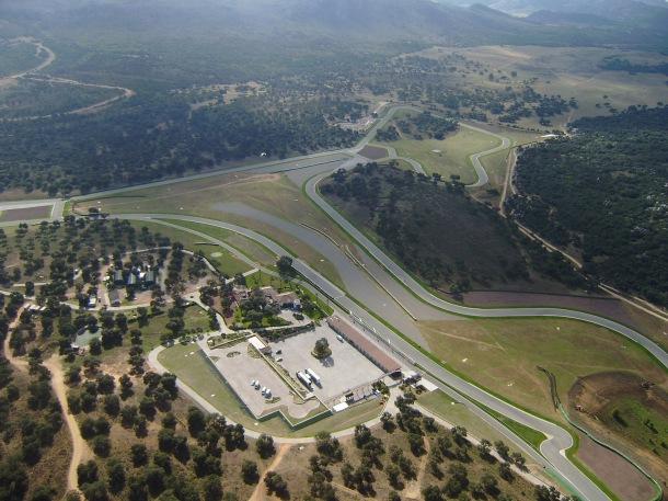 Vista del circuito de Ascari. Foto: JOSÉ DURÁN