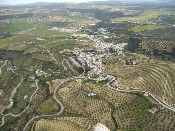 Vista del entorno de Setenil. Foto: JOSÉ DURÁN