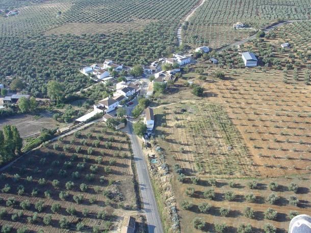 Vista del poblado de Ronda la Vieja. Foto: JOSÉ DURÁN