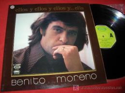 """Benito Moreno, cantautor. Se hizo popular con la canción de """"El Lobito"""", sintonía de """"El Larguero""""."""
