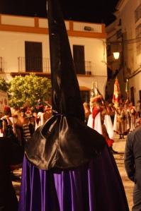 Desfile de los Regulares en la Plaza, al final del desfile procesional. Foto: LOLI CALVENTE