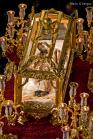 Santo Entierro, con la imagen del Criste de la Vera-Cruz (siglo XVI-XVII). Foto: Mario García Vargas.