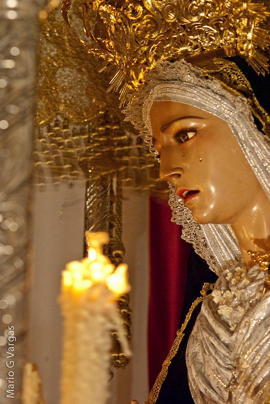 Virgen de los Dolores. Foto: MARIO GARCÍA VARGAS