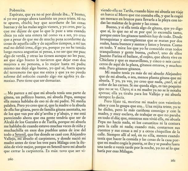 """Setenil en """"Las mil noches de Hortensia Romero"""", de Fernando Quiñones"""