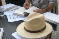 El sombrero de Ezequiel es un símbolo para las personas que aman el medio rural y los pueblos andaluces. Foto: ÁNGEL MEDINA LAÍN