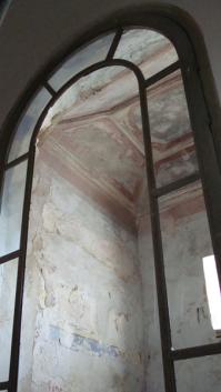 El camarín, obra de finales del siglo XVIII, según consta en la documentación de la Hermandad de LOs Blancos.