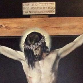 """Un """"Velázquez"""" de Charo Alarcón para la Iglesia deSetenil"""