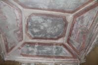 Techo del camarín, un añadido del finales del siglo XVIII que se conservará.
