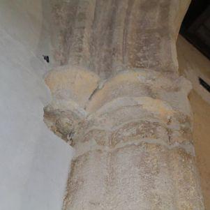 Detalle del arco de la ermita.