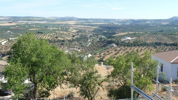 Vista del arroyo de Alcalá desde la cubierta de la ermita de San Sebastián. Foto: IMAGINA SETENIL