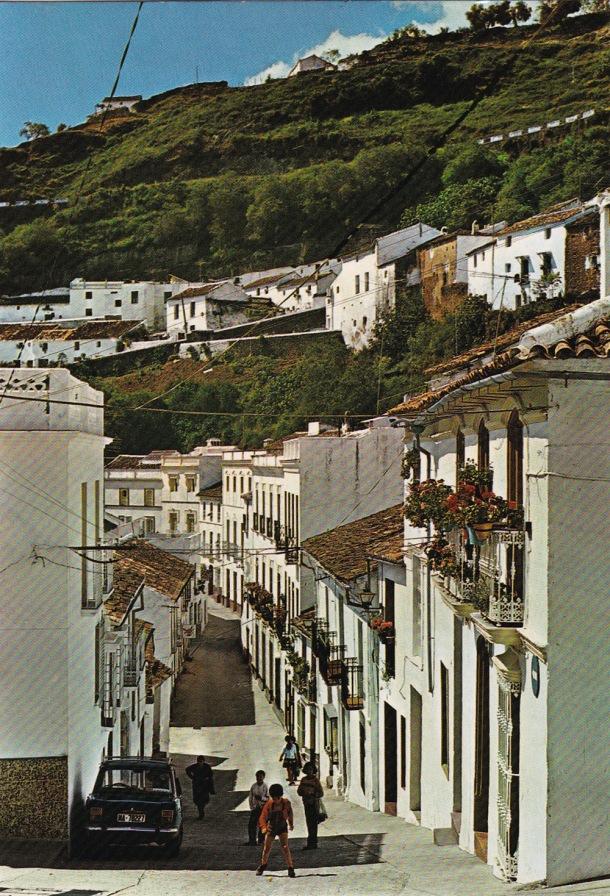 Postal del pecho de la plaza a comienzos de los años '80.