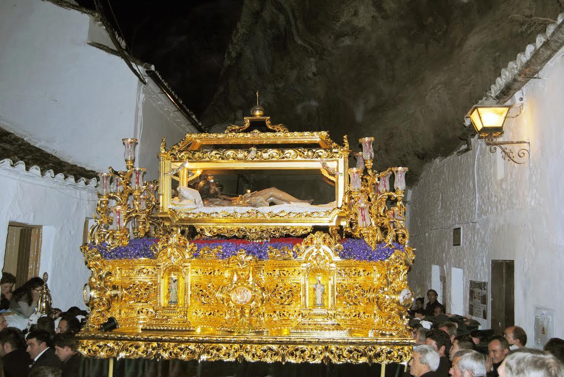 Santo Entierro en el giro de las Cuevas d ela Sombra. Foto: ÁNGEL MEDINA LAÍN