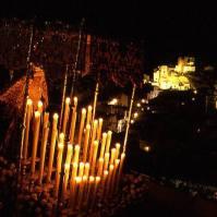 La Virgen de los Dolores por la Cantarería. Foto: MARIO GARCIA VARGAS