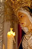 La Virgen de los Dolores, obra de Luis Álvarez Duarte. Foto: MARIO GARCÍA VARGAS.