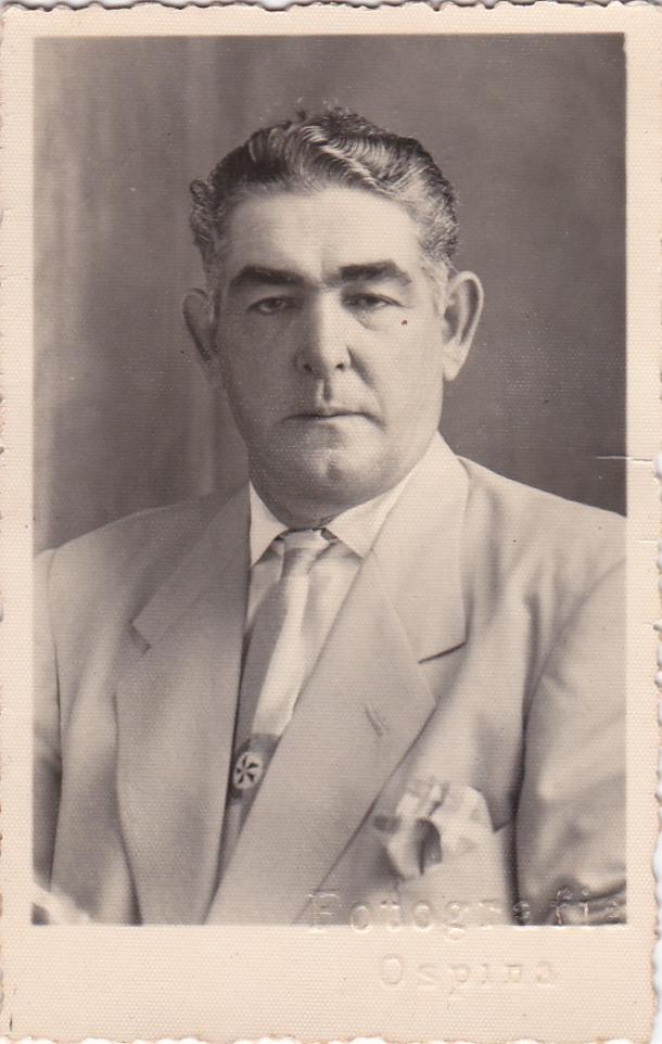 Diego Tornay, antes de su exilio. Más información en este enlace de Rafael Vargas, familiar suyo http://goo.gl/AYsPEI