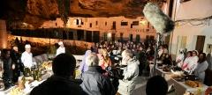 """Imagen general del directo realizado por """"Andalucía Directo"""" en las Cuevas del Sol."""